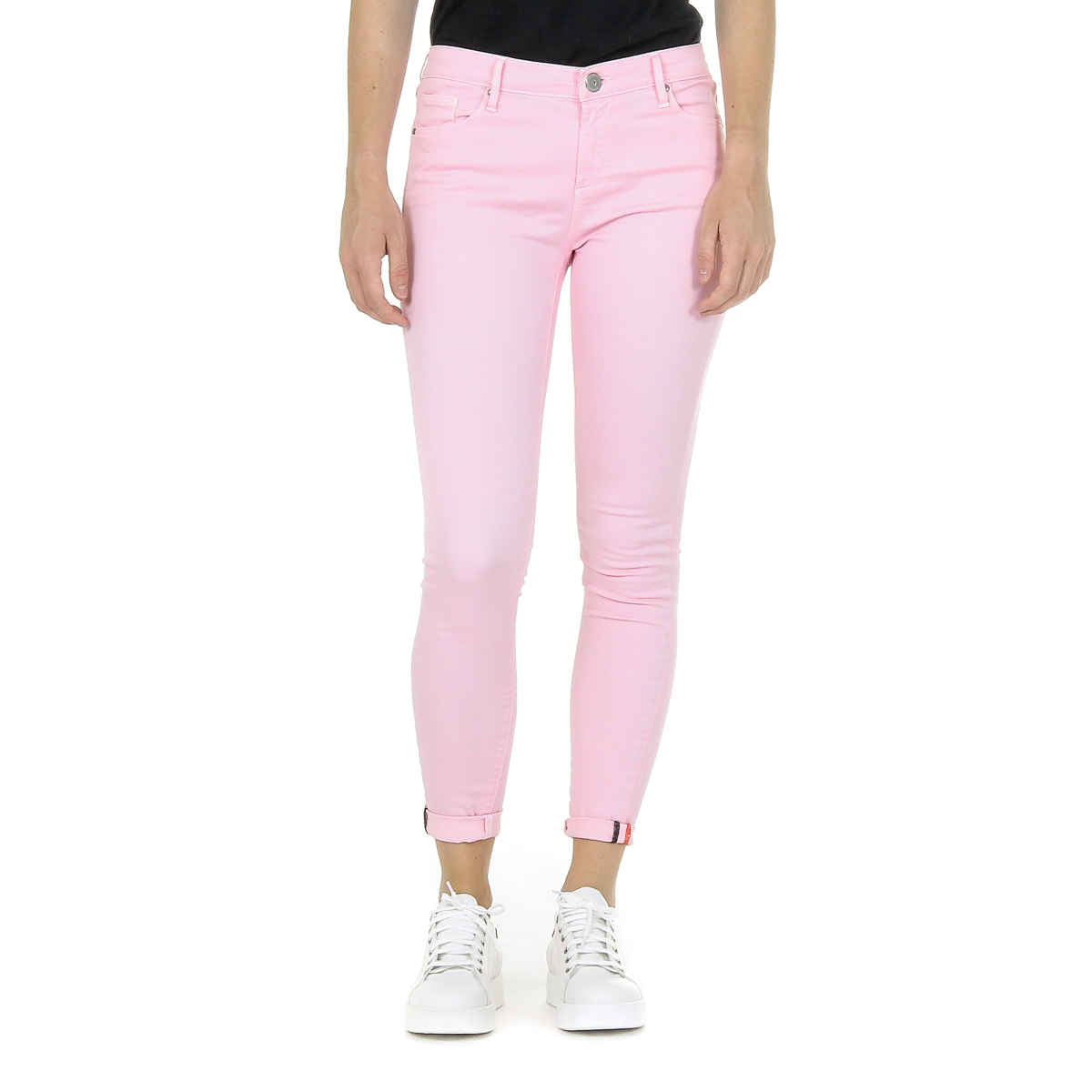 Primary image for Andrew Charles Womens Trousers Pink CLAIRE