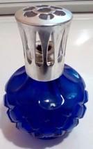 Vintage Cobalt Blue Catalytic Berger Burner Lamp Fragrance Lamp  - $59.40