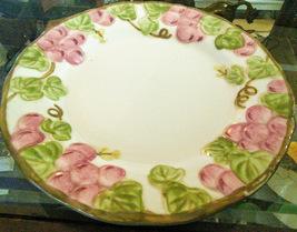 "Metlox Pink Poppy Trail Vernon Salad Plate 7 1/2"" - $8.00"