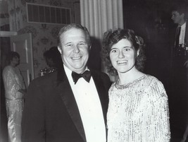 Ned Beatty and wife - professional celebrity photo 1986 - $6.85
