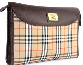 100% Auth Burberry Brown Nova check Secondary B... - $237.60