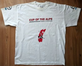 Adidas Cup of the Alps fussball turnier U19 t-shirt size L - $19.39