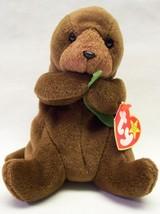 "TY Beanie Baby SEAWEED THE RIVER OTTER 5"" Plush Stuffed Animal NEW - $15.35"