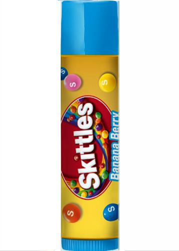 Lip Smacker Skittles BANANA BERRY Candy Lip Balm Gloss Chap Stick EOS Baby Lips