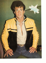 Sylvester Stallone Journey teen magazine pinup clipping outside Tiger Beat Bop