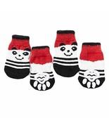 4 Pcs Red Panda Knitted Dogs Socks Cat Socks Cute Pet Socks Dog Paw Prot... - $17.11