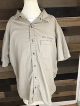 Patagonia Short Sleeve Button Up Shirt New Belgium Brewery Organic Mens Xl - $25.23