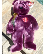 "TY Pillow Pals Beanie Baby Babies Signature Bear 15"" Retired Collectible... - $10.00"