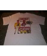 Rick and Morty Heist Con Men's Short Sleeve T Shirt white Medium New Adu... - $23.75