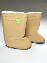 AMERICAN GIRL True Spirit Replacement Butterfly Brown boots - $5.89