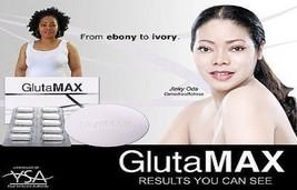 GLUTAMAX GLUTATHIONE PILLS CAPSULES & SOAP SKIN WHITENING LIGHTENING BLE... - $139.99