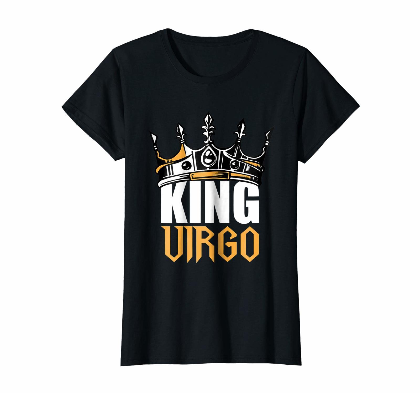 Funny Happy birthday T-Shirt - Virgo Birthday Gifts - King Virgo Zodiac T-Shirt  image 2