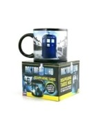 Doctor Who Disappearing TARDIS Mug Coffee Hot Chocolate BBC Hot Cold MB5... - $20.89