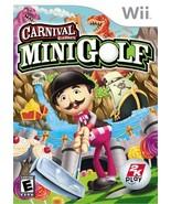 Carnival Games: MiniGolf - Nintendo Wii - $44.67