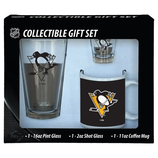 Pittsburgh Penguins 3pc. Drinkware Gift Set