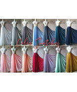 Chiffon Color Card Wedding Bridesmaid Chiffon Color Samples-Dressromanit... - $0.30