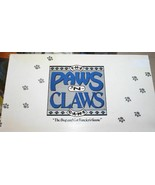 Vintage   PAWS 'n CLAWS   1987 Cat and Dog Trivia/Board Game  Complete/E... - $19.99