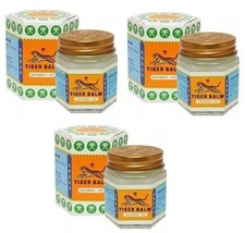 Genuine Tiger Balm MULTI-PACK Of Three White 30g - Fast Priority Air Mail - $18.00