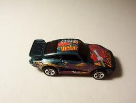 Hot Wheels Prosche 930 Rockin Rod Series #4 Blue Car 1989 - $6.99