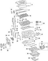 Genuine Mercedes-Benz Chain Guide 271-052-04-16 - $6.96
