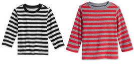 First Impressions Baby Boys' Striped Thermal T-Shirt, Sizes: 3-6, 6-9,12, 24 Mon - $9.99