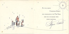 *Black Actor Stepin Fetchit's Personal Christmas Card SIGNED BY STEPIN F... - $125.00