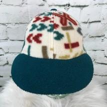 Unisex One Sz Hat Multi Color Fleece Ear Flap Adjustable Strapback Baseb... - $14.84