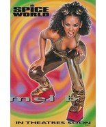 """Spice Girls """"Scary Spice"""" Personality Poster Counter Top STAND-UP DISPLAY - $16.99"""