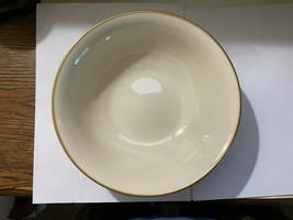 Lenox Ivory Serving Bowl 24K Gold Rim Avon President's Club Award 1980 (EUC) - $6.44