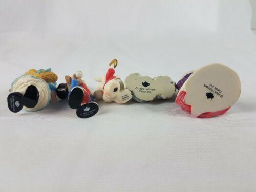 Hallmark Merry Miniatures Alice in Wonderland 5 Piece Set Lot image 4
