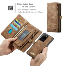 k4) Leather WALLET Flip Magnetic BACK cover Case for Samsung Galaxy - $90.00