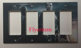 Superman Batman dark knight Light Switch Outlet wall Cover Plate Home decor image 2