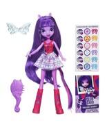 "My Little Pony Equestria Hasbro 9"" Girls Doll - Purple Hair Twilight Spa... - €17,60 EUR"