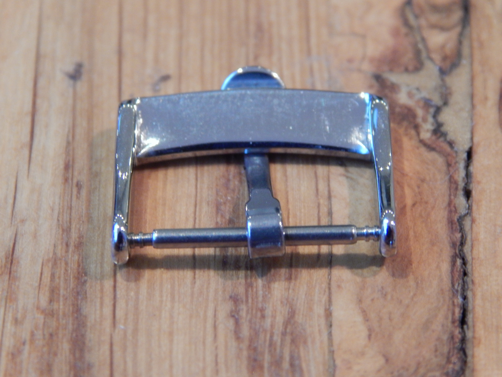 omega watch buckle 20 mm stainless steel / silver
