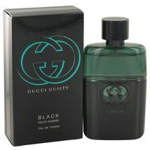 Gucci Guilty Black by Gucci Eau De Toilette Spray 1.6 oz for Men #500592 - $61.64