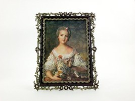 Ciel Collectables Antique Brass Jana Picture Frame with Swarovski Crysta... - $102.34 CAD