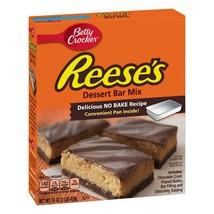 Betty Crocker Reeses Dessert Bar Mix No Bake With Pan 16 oz Box New 08/2021 - $13.54