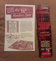 HIGH SCHOOL MUSICAL Mystery Date Game replacement pieces parts 48 CARDS ... - $7.69