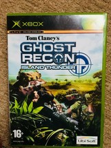 Tom Clancy's Ghost Recon: Island Thunder (Microsoft Xbox, 2003) Live - $4.50