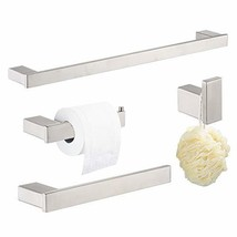 "Klabb D68 4-Piece ss304 Bathroom Hardware Accessory Set with 24"" Towel B... - $63.09"