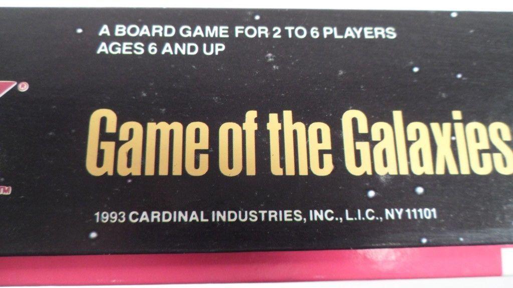 EUC 1993 Cardinal Star Trek Next Generation TNG Game of the Galaxies Board Game