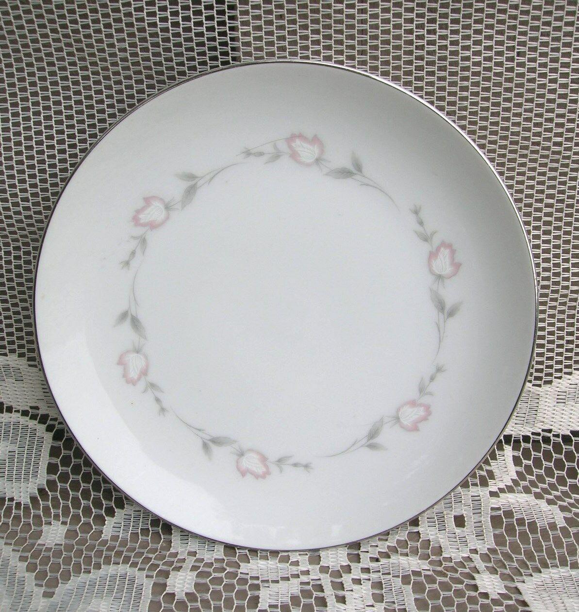 """Old Vintage Sango Bridal Rose 6-1/2"""" Bread & Butter Plate Pattern 6192 Japan - $9.89"""