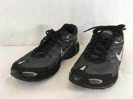 super popular 63e96 7d332 Nike Air Max 343846-002 Mens 10 Black Anthracite Workout Hiking Running  Shoes - £