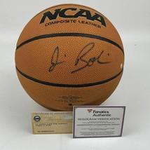 Autographed/Signed JIM BOEHEIM Syracuse Orange Wilson Basketball Fanatic... - $124.99