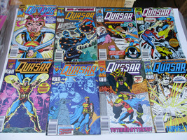Marvel Quasar comic book lot Cosmic Avenger 5 6 7 9 10 12 13 16 Vintage  - $20.81