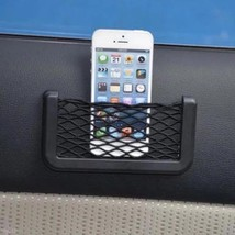 Adhesive AutoCar Mount Holder Mesh Net Pouch Bag Sticky Pocket Phone Key... - $2.39 CAD