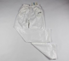 Vintage 80s New Adidas Mens Large Spell Out Trefoil Casual Run DMC Pants... - $75.19