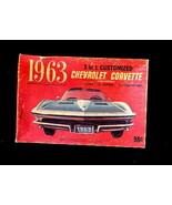1963 Palmer 3 in 1 Customized Corvette Kit Box - $9.95
