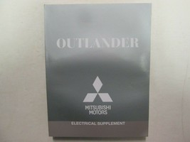 2014 Mitsubishi Outlander Electrical Supplement Manual FACTORY OEM BOOK - $34.59
