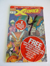 Marvel X-Force #1 Marvel Comics Book with X-Force Trading Card New Sealed - $14.26